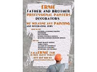 PAINTING & DECORATING SERVICE - PROFESSIONAL PAINTERS/DECORATORS CONTACT ERNIE FOR FREE QUOTE TODAY