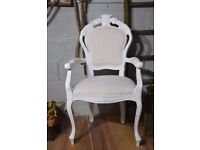 Shabby Chic Distressed French Style Chair Laura Ashley