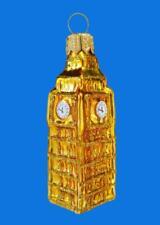 MINI BIG BEN ENGLAND LANDMARK EUROPEAN BLOWN GLASS ...