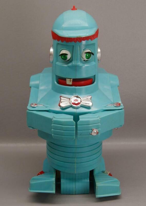 VINTAGE YAKKITY YOB ROBOT • Manually Operated • Eldon Industries (1961)