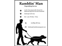 Ramblin' Man's Dog Walking Service