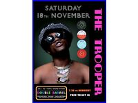 SATURDAY 18th NOVEMBER - 60s 70s SOUL / REGGAE / MOTOWN / DISCO with DOUBLE BARREL - ST GEORGE