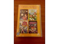 Childrens dvds , the best of dr seuss, the magic sword, power puff girls movie , lauras star,