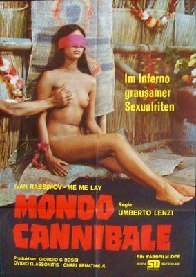 Sacrifice Movie Poster (SACRIFICE German A1 movie poster 1972 UMBERTO LENZI CANNIBAL HOLOCAUST NM )