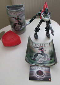 LEGO Bionicle Metru Nui Vahki Vorzakh (8616) with Pod, Instructions And Disc