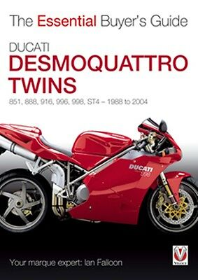 Ducati Desmoquattro Twins The Essential Buyers Guide 1968 to 2004 book paper