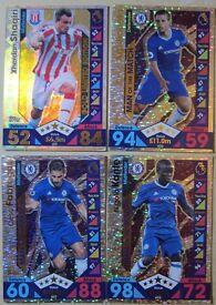 Match Attax 2016/17 - Shaqiri, Azpilicueta, Fabregas, Kante card for sales