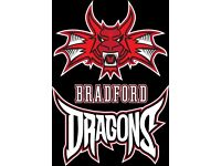 Bradford Dragons v Worthing Thunder Saturday 29th October 2016 6.15pm