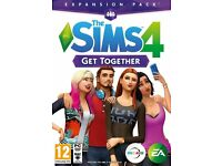 Sims 4 Get Together Expansion Pack - Sealed Brand New PC DVD - Bargain £20