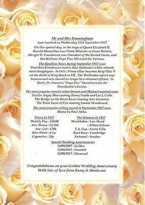 Silver Wedding Anniversary Ideas (25th Silver Personalised Wedding Anniversary Present Gift)