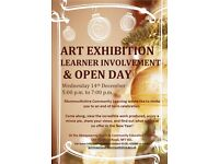 Art Exhibition and Open Day in Abergavenny
