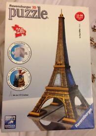 Puzzle Eiffel Tower 3D