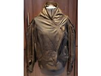 Ladies real Leather Jacket. Perfect Condition. Colour Mink. Size EUR 40/Uk 10-12 £55
