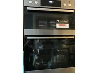 AEG Double oven, built-in, hardly used, grill etc..