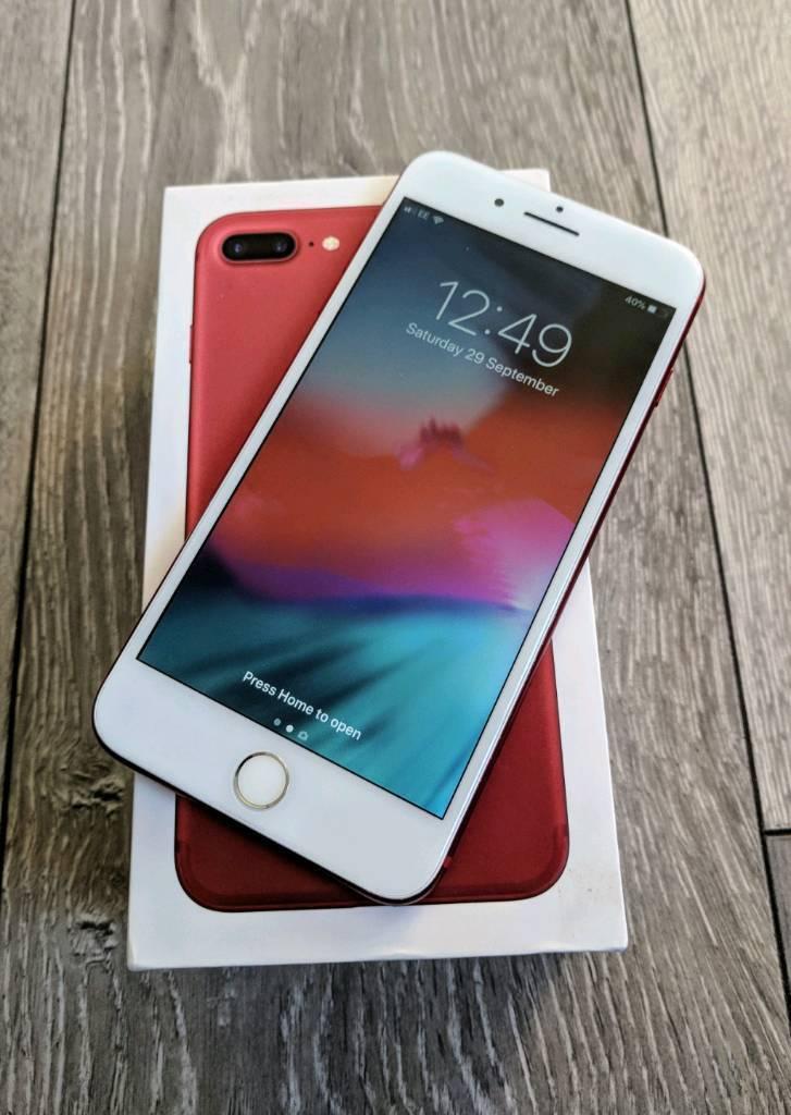 iPhone 7 Plus 128gb Red (unlocked) | in Plumstead, London | Gumtree