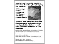 Driveway / patio pressure washing - selected Nottingham areas only, see pic for details