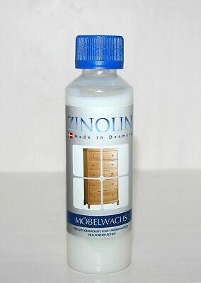 Zinolin Möbel-Wachs 250ml Möbelpflegewachs Möbelwachs Buche Kiefer Fichte Tanne