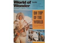 Vintage 1970's 'World of Wonder' magazine edition number 218.