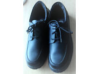 Mens Steel Toe Capped Lace-up Shoes, size 11, NEW and Unworn