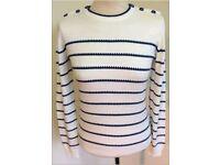 Brand New Ladies Designer 'Ness' Stripe Jumper RRP £34.99
