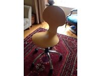For sale: Arne Jacobsen-style adjustable office chair