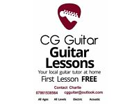 Guitar Tuition - Professional, Fun and Friendly - CG Guitar