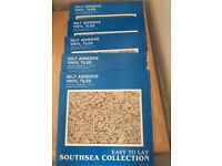 Quality self adhesive vinyl tiles,costs £8.95 each pack I have 6.5 packs, take them all for only £25