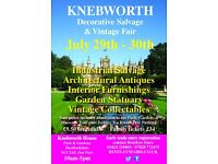 Knebworth Decorative Salvage & Vintage Fair