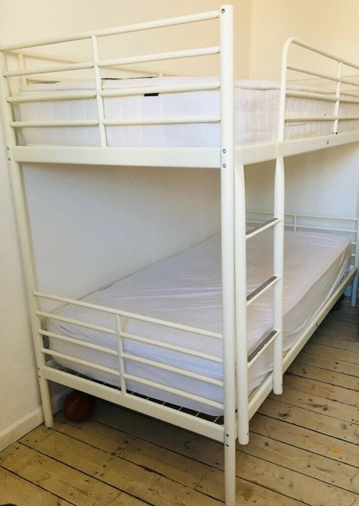 Ikea Svarta Bunk Bed White In Rusholme Manchester Gumtree