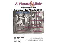 a Vintage Affair - Sunday 8th April
