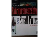 Bundle of 6 Business Related University Books