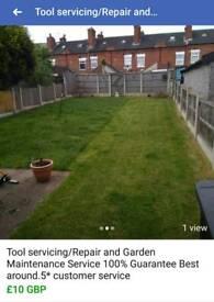 Garden Maintenance and Tool repair/service