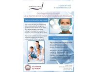 Diploma in Dental Nursing - enroll and work as a trainee dental nurse immediately !