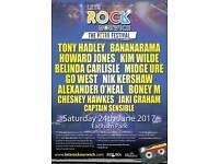 1 ADULT Let's Rock Norwich Festival Ticket