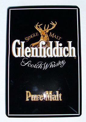 GLENFIDDICH  LOGO , BLECHSCHILD , SCOTCH WHISKY