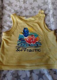 Disney sleeveless Nemo&Dory t-shirt-6 months