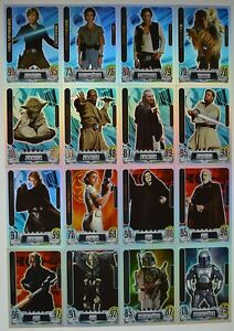 Force Attax Movie Card Serie 2 - aussuchen aus allen Star Karten Nr. 193 - 212