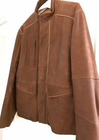Oliver Sweeny designer men's leather jacket