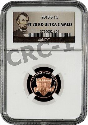 2013 S LINCOLN PENNY NGC PF70 RD ULTRA CAMEO PORTRAIT LABEL on Rummage