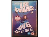 New DVD: Lee Evans 'Big' Live At The Oz (2008)
