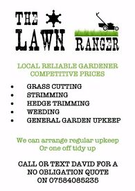 Reliable Local Gardener Available Cover North Glasgow