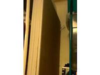 5 sound proof plasterboard panels 235x60cm