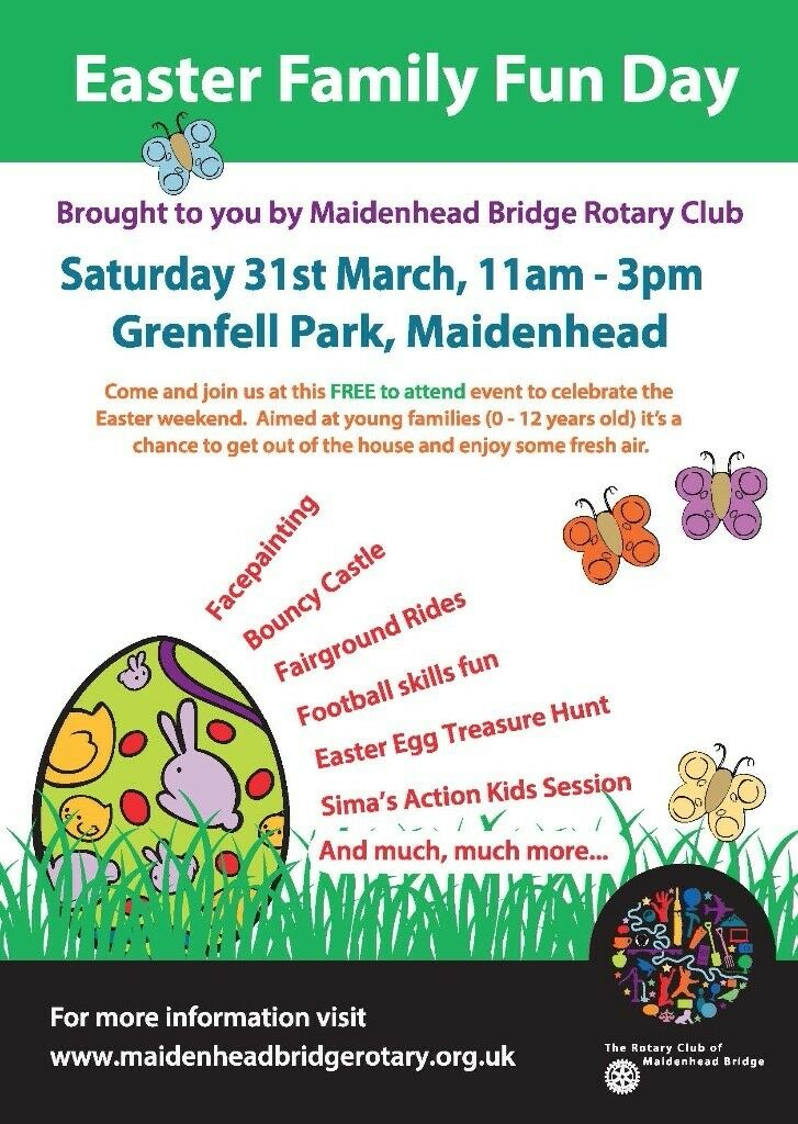 Easter family fun day in maidenhead berkshire gumtree negle Gallery