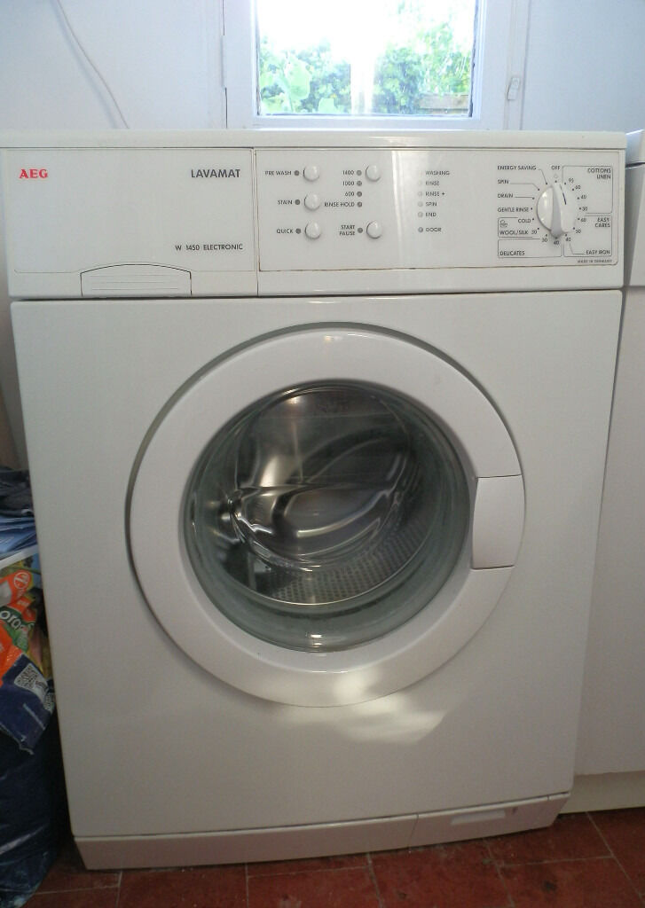 washing machine aeg lavamat w1450 electronic in cambridge cambridgeshire gumtree. Black Bedroom Furniture Sets. Home Design Ideas