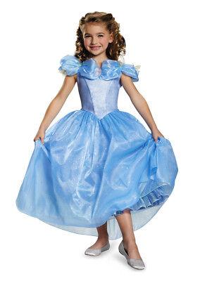 Mädchen Disney Märchen Deluxe Cinderella Prestige Prinzessin Neu Film Kleid (Neue Disney Prinzessin Filme)