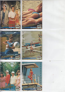 Baywatch-1995-Sports-Time-Cards-Lot-10-6-Cards