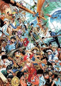 JUMP-ONE-PIECE-MAGAZINE-NARUTO-BLEACH-MANGA-ANIME-POSTER-ART-PRINT-AMK2243