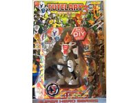 """FREE 52x Tutelary Earth 3 Hero Action figures 7"""" Tall, Brand new & Sealed FREE"""