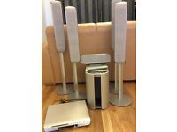 Sony sound system complete DVD home theatre, 4 standing spkrs & digital S-master amplifier