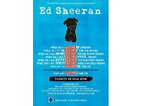 2 x Ed Sheeran tickets £150 each